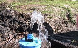скважинная вода весной