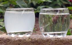 очистить воду от извести
